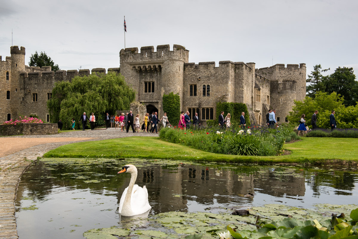 Wedding photography at Allington castle during Paul and Lexy's wedding