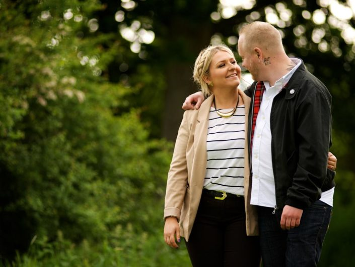 Engagement photograph taken by Kent wedding photographer Helen Batt at Fridd Farm in Kent