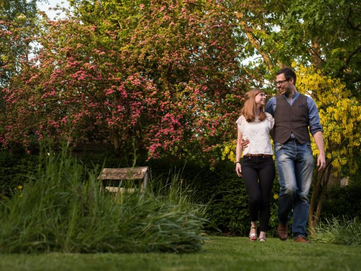Pre wedding photograph of Paul and Laura in Cranbrook, Kent