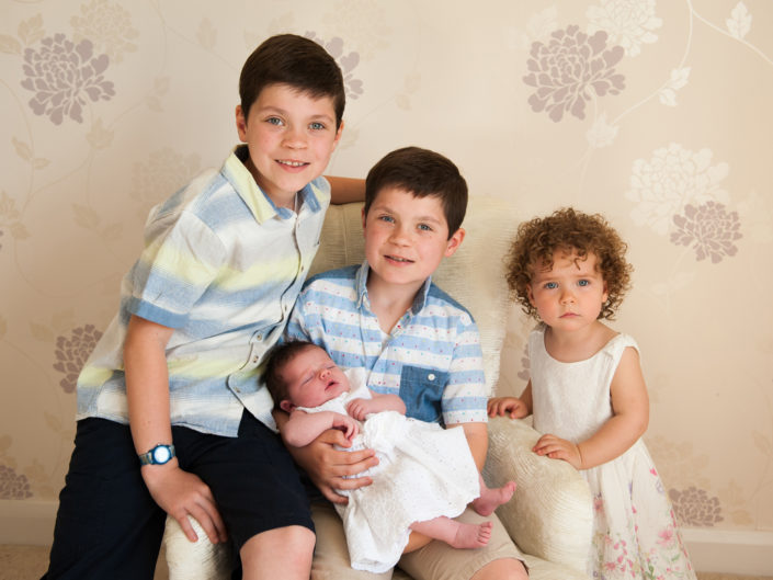 Family portrait photography in Kent, Hankinsons family