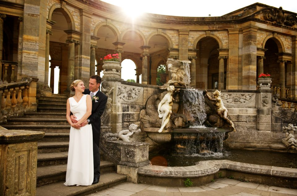 Hever Castle Wedding - Gail & John