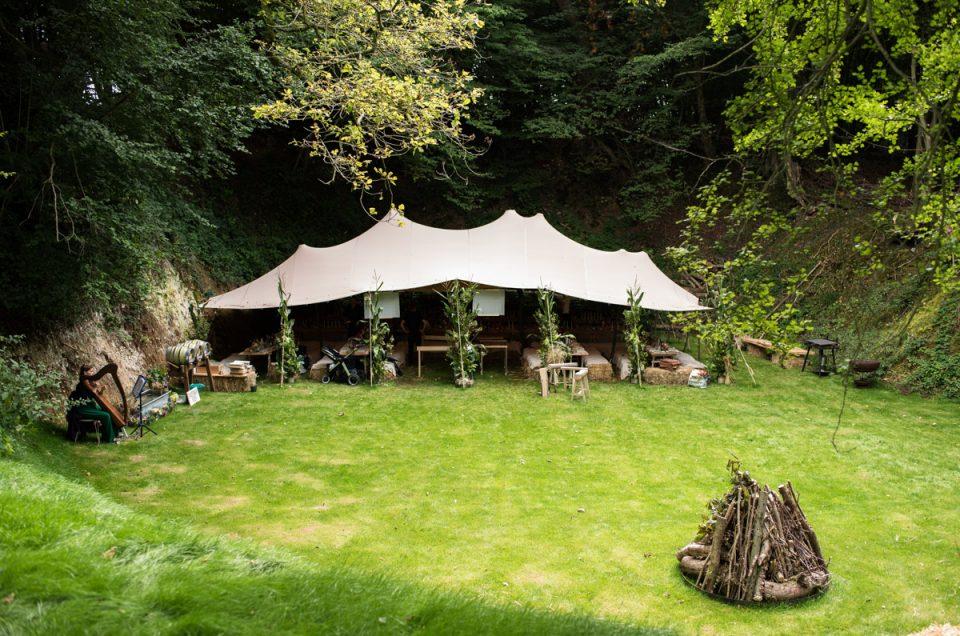 Kent Wedding Celebration in the Woods – Brogan & Seb