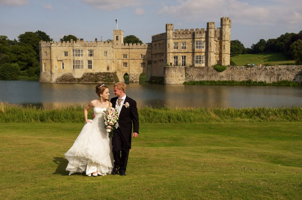 Wedding at Leeds Castle, Kent - Timea & Edmund