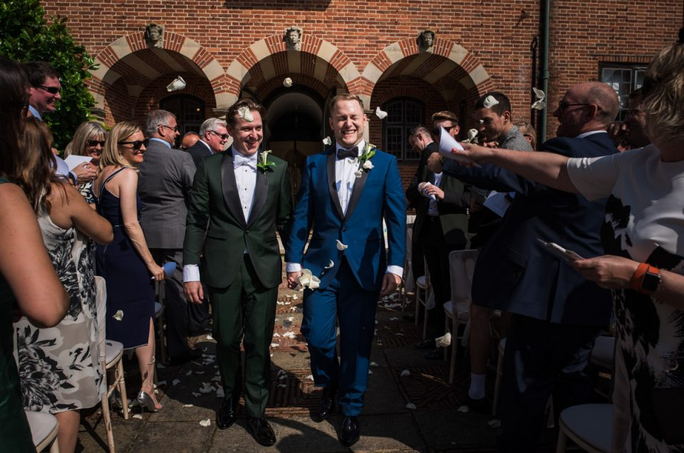 Port Lympne Mansion Wedding in Kent - David & Simon