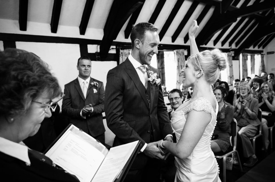 Chilham Village Hall Wedding in Kent – Emily & Rob
