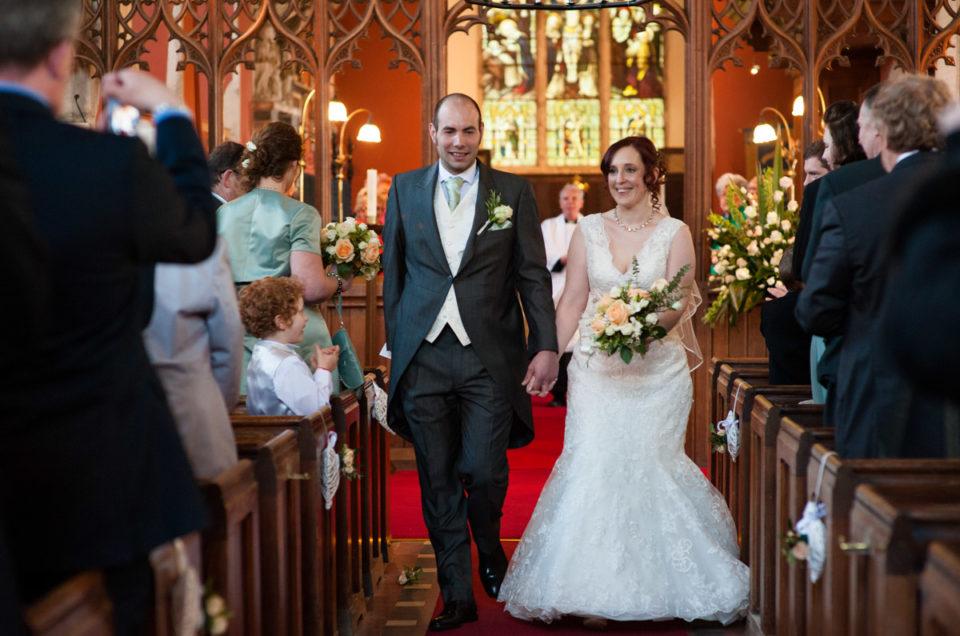 Wedding at Mersham Church & The Secret Garden – Charlotte & Chris