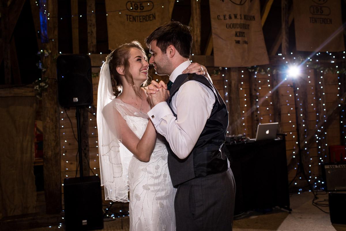 Ratsbury wedding Photography , Tom & Beths first dance