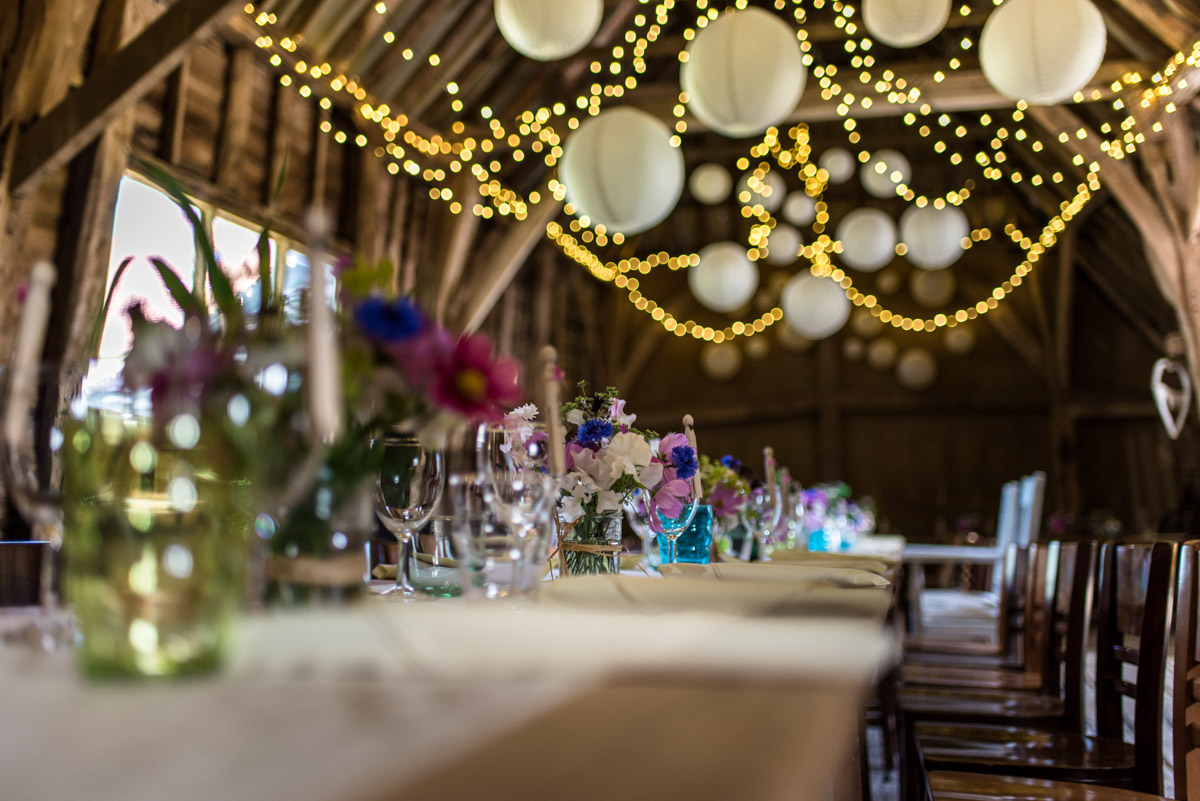 Photograph of barn reception venue in kent