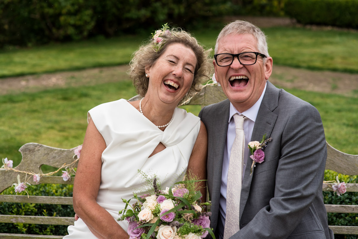 The secret garden wedding photography of Kate and John in the gardens