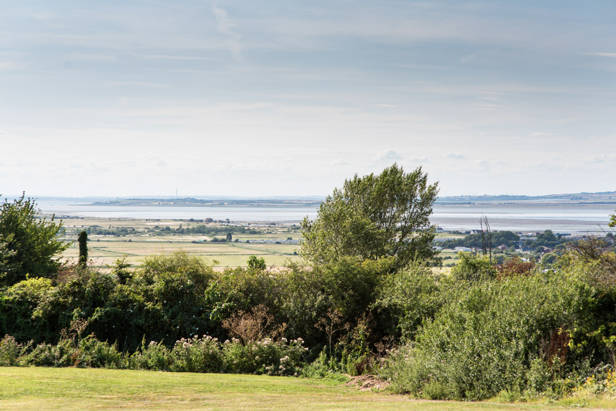 Photograph of the view from The crescent Turner Hotel in Whitstable