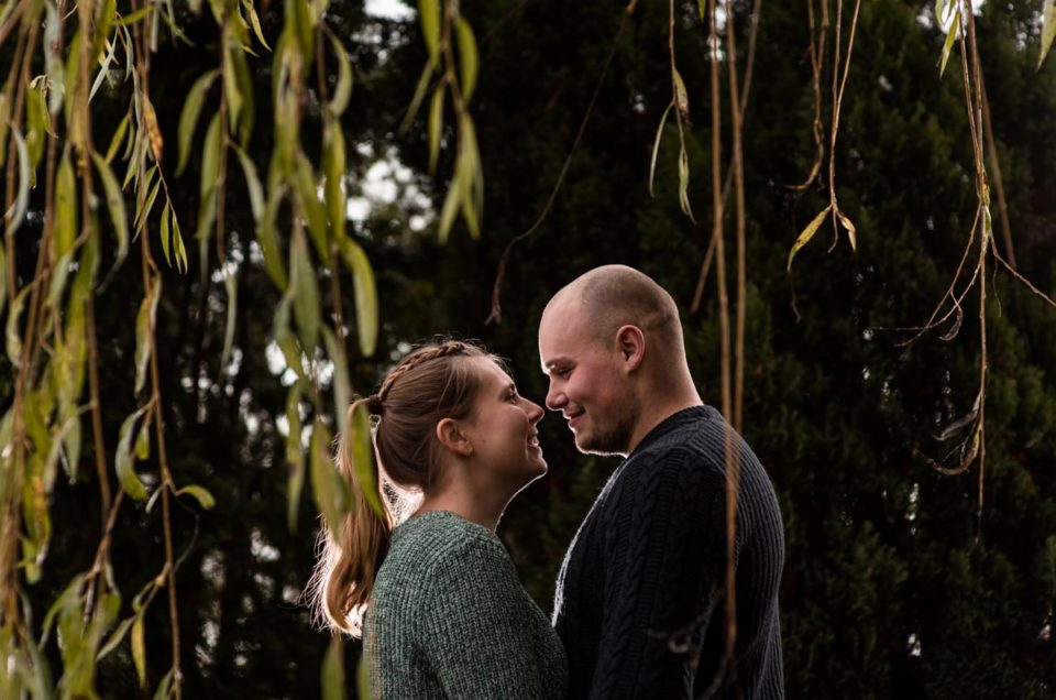 Pre Wedding Photography on the farm - Rachel & Ryan
