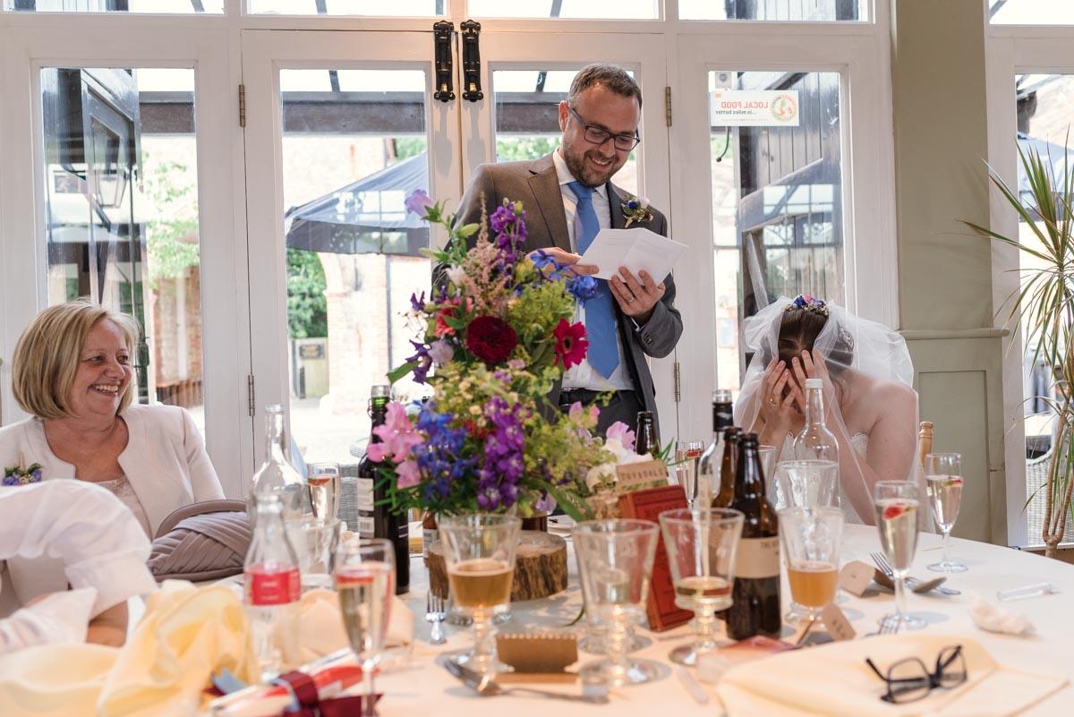 Coach house wedding photography at the secret garden