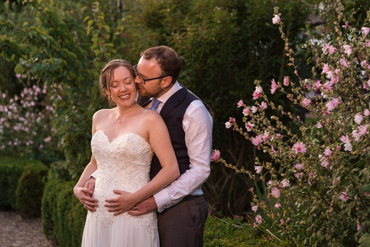 wedding photography at the secret garden on sarah and Chris's special day