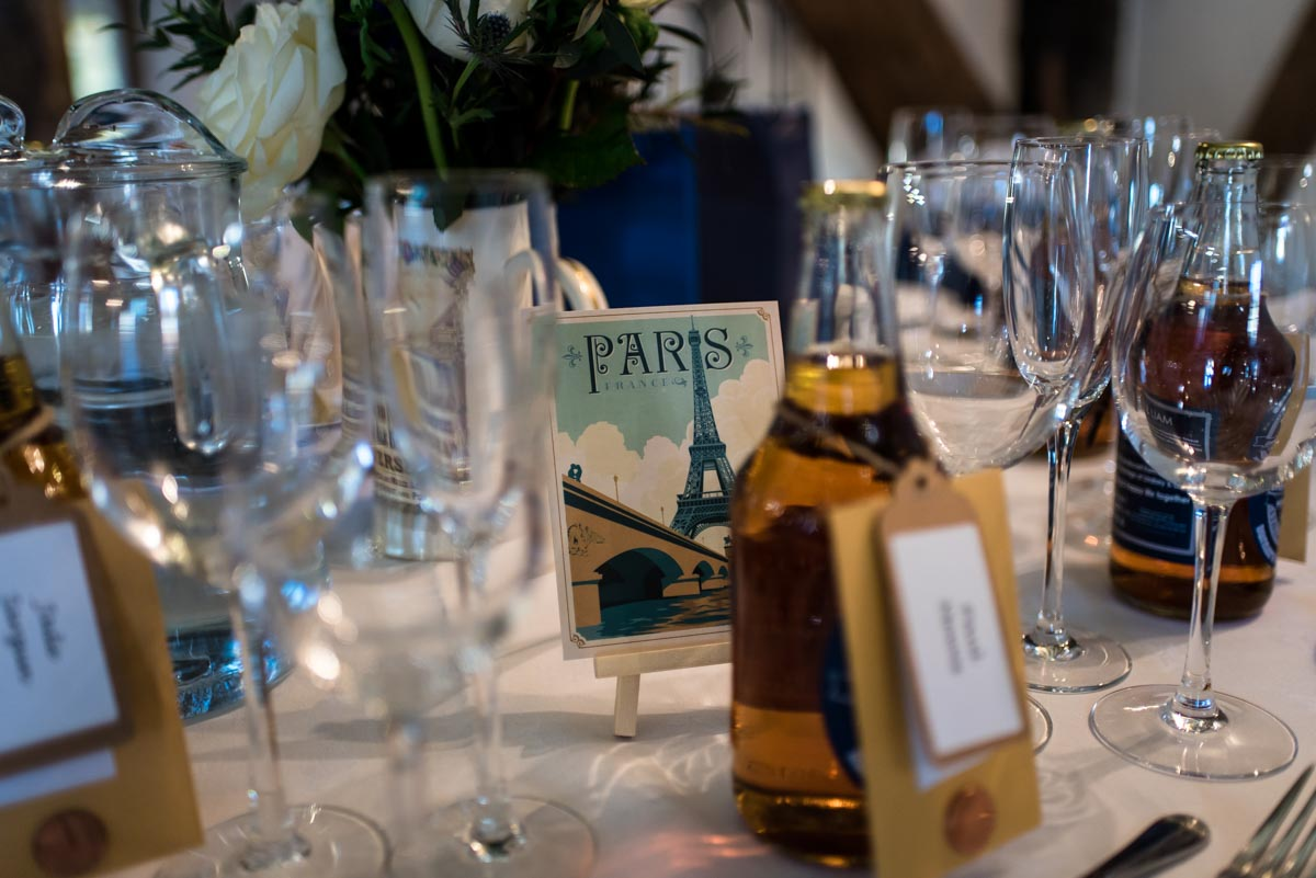 The Old brewery wedding photography of table decorations