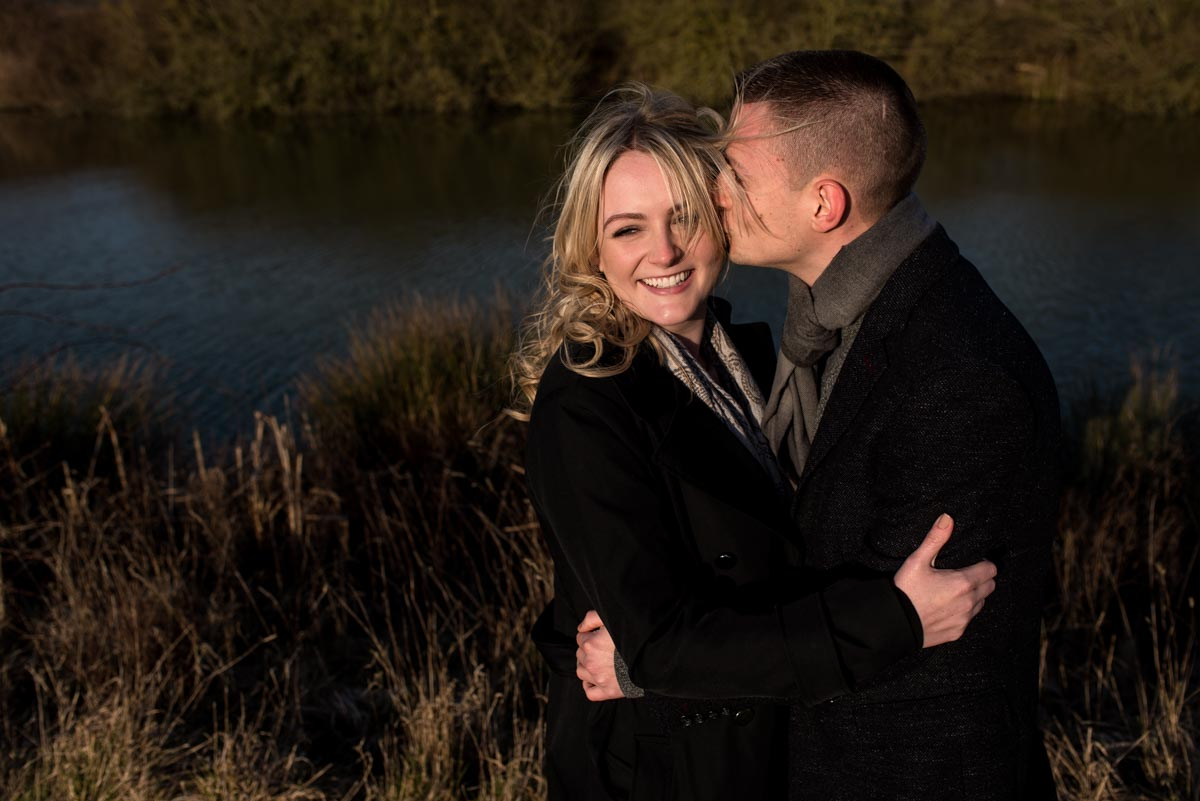 Engagement photography in Kent down on the farm with amy and Rob