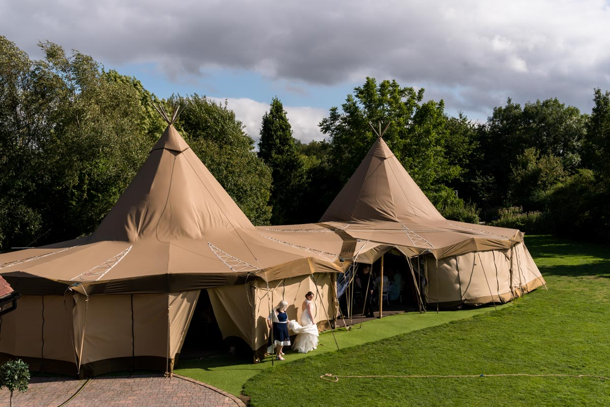 Photograph of Gardens Yalding Tipis