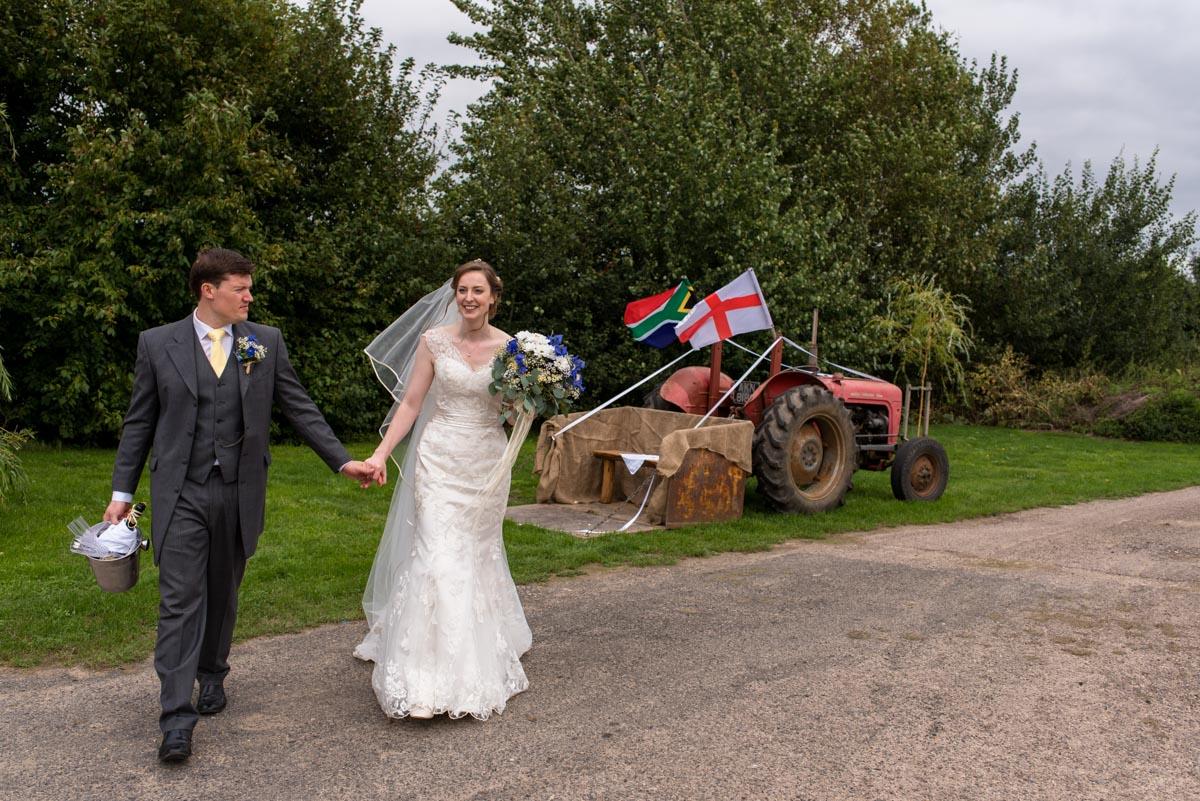 Kent country wedding near Canterbury