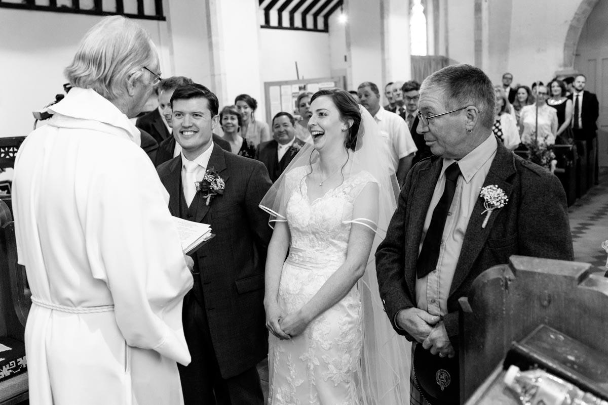 Preston Church wedding photography Kent