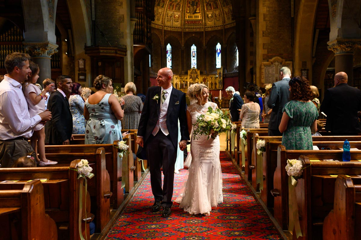 Folkestone church wedding